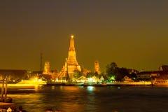 Προκυμαία Prang Wat Arun Phra Στοκ φωτογραφίες με δικαίωμα ελεύθερης χρήσης