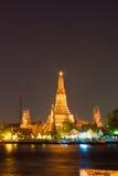 Προκυμαία Prang Wat Arun Phra Στοκ εικόνες με δικαίωμα ελεύθερης χρήσης