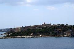 Προκυμαία Sliema, Μάλτα Στοκ φωτογραφία με δικαίωμα ελεύθερης χρήσης