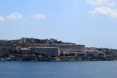 Προκυμαία Sliema, Μάλτα Στοκ εικόνα με δικαίωμα ελεύθερης χρήσης