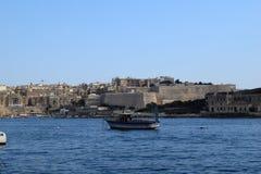 Προκυμαία Sliema, Μάλτα Στοκ Φωτογραφίες