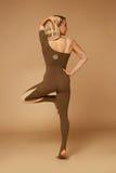 Προκλητικά ενδύματα μορφής σωμάτων ικανότητας αθλητικής γιόγκας γυναικών ομορφιάς pilates στοκ φωτογραφία με δικαίωμα ελεύθερης χρήσης