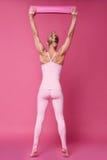 Προκλητικά ενδύματα μορφής σωμάτων ικανότητας αθλητικής γιόγκας γυναικών ομορφιάς pilates στοκ εικόνες με δικαίωμα ελεύθερης χρήσης