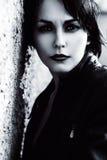 προκλητική γυναίκα δέρματ Στοκ εικόνες με δικαίωμα ελεύθερης χρήσης