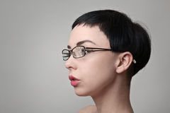 Σπασμένα γυαλιά Στοκ φωτογραφία με δικαίωμα ελεύθερης χρήσης