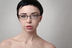 Σπασμένα γυαλιά Στοκ Εικόνα