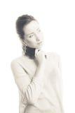 Προκλητική νέα γυναίκα Στοκ Φωτογραφία