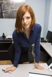 Προκλητικός γραμματέας στοκ εικόνες με δικαίωμα ελεύθερης χρήσης