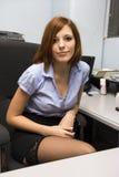 Προκλητικός γραμματέας στοκ φωτογραφίες με δικαίωμα ελεύθερης χρήσης