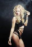 προκλητικός χορευτής striptease Στοκ Εικόνες