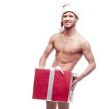 Προκλητικό άτομο Χριστουγέννων Στοκ Φωτογραφία