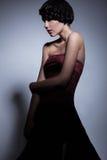 Προκλητικό θηλυκό με την πλεξίδα Στοκ Φωτογραφίες