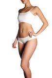 Προκλητικό σώμα μιας όμορφης γυναίκας όμορφη γυναίκα σωμάτων Τέλειο SH Στοκ Εικόνες