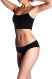 Προκλητικό σώμα μιας όμορφης γυναίκας όμορφη γυναίκα σωμάτων Τέλειο SH Στοκ φωτογραφία με δικαίωμα ελεύθερης χρήσης