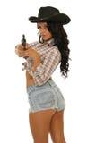 Προκλητικό cowgirl Στοκ φωτογραφία με δικαίωμα ελεύθερης χρήσης