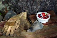 προμήθειες αλιείας Στοκ εικόνα με δικαίωμα ελεύθερης χρήσης