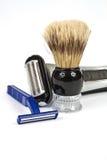 προμήθειες ξυρίσματος Στοκ εικόνες με δικαίωμα ελεύθερης χρήσης
