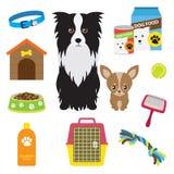 προμήθειες σκυλιών Στοκ Φωτογραφία