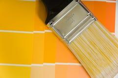 προμήθειες χρωμάτων Στοκ Φωτογραφία