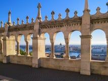 Προμαχώνας ψαράδων του Castle Buda, Βουδαπέστη, Ουγγαρία Στοκ Εικόνες