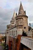 Προμαχώνας ψαράδων ` s στο Hill της Βουδαπέστης ` s Castle Στοκ φωτογραφίες με δικαίωμα ελεύθερης χρήσης