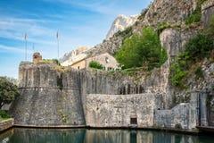 Προμαχώνας Gurdic σε Kotor, Μαυροβούνιο Στοκ Εικόνες