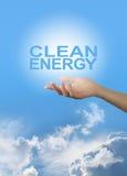 Προμηθευτής καθαρής ενέργειας Στοκ εικόνα με δικαίωμα ελεύθερης χρήσης