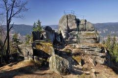 Προοπτική βράχου Στοκ εικόνες με δικαίωμα ελεύθερης χρήσης