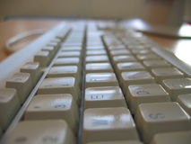 προοπτική πληκτρολογίων Στοκ φωτογραφία με δικαίωμα ελεύθερης χρήσης