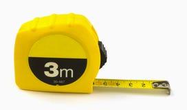 προορισμένη συσκευή ταινία μέτρησης μέτρου μήκους Στοκ φωτογραφία με δικαίωμα ελεύθερης χρήσης