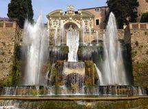 Προορισμός δ ` Este Tivoli βιλών δημοφιλέστερος διακινούμενος στο Λάτσιο στοκ φωτογραφία με δικαίωμα ελεύθερης χρήσης