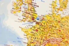 προορισμός Λονδίνο Στοκ εικόνες με δικαίωμα ελεύθερης χρήσης