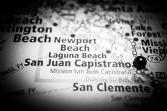 Προορισμός ταξιδιού του San Juan Capistrano στοκ φωτογραφίες με δικαίωμα ελεύθερης χρήσης