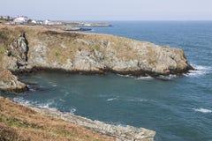 Προσέγγιση στον κόλπο του Bull σε Anglesey, Ουαλία, UK Στοκ Εικόνες