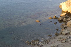 Προσέγγιση της θάλασσας Στοκ Φωτογραφίες