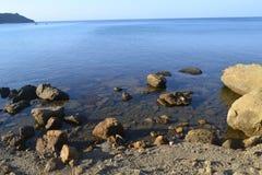Προσέγγιση της θάλασσας Στοκ Εικόνες