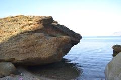 Προσέγγιση της θάλασσας Στοκ φωτογραφία με δικαίωμα ελεύθερης χρήσης