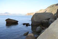 Προσέγγιση της θάλασσας Στοκ εικόνα με δικαίωμα ελεύθερης χρήσης