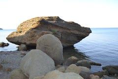 Προσέγγιση της θάλασσας Στοκ Φωτογραφία