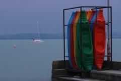 Προσαραγμένα paddleboards Στοκ φωτογραφίες με δικαίωμα ελεύθερης χρήσης