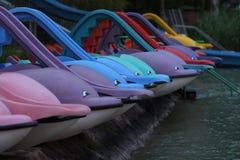 Προσαραγμένος paddleboats Στοκ εικόνες με δικαίωμα ελεύθερης χρήσης