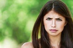 προσβλήθηκε η νεολαία γυναικών Στοκ φωτογραφία με δικαίωμα ελεύθερης χρήσης