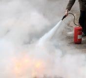 Προσβολή του πυρός στοκ φωτογραφίες με δικαίωμα ελεύθερης χρήσης