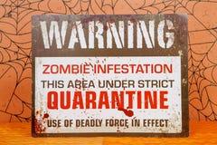 Προσβολή Zombie Στοκ Φωτογραφίες