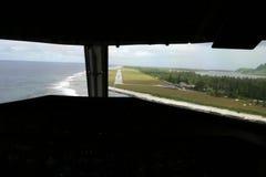 προσγείωση αερογραμμών τ Στοκ Εικόνες