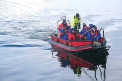προσγείωση βαρκών πολική Στοκ εικόνα με δικαίωμα ελεύθερης χρήσης