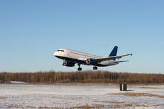 προσγείωση Στοκ φωτογραφία με δικαίωμα ελεύθερης χρήσης