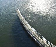 Προσγειωμένος αποβάθρα Στοκ Φωτογραφία