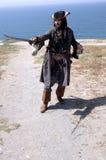 προσγειωμένος πειρατής Στοκ εικόνες με δικαίωμα ελεύθερης χρήσης