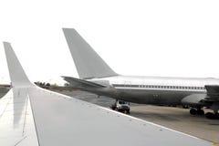 προσγειωμένο φτερό προοπ Στοκ φωτογραφία με δικαίωμα ελεύθερης χρήσης